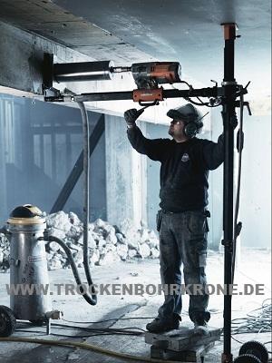 TROCKENBOHRKRONEdeTelekopSaeulerkreuzbohrstaenderBIS350mm4